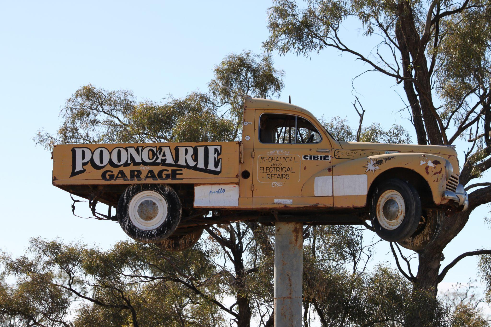 Pooncarie to Menindee
