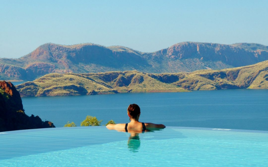 This resort has the best view in the Kimberley